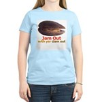 Jam Out With Your Clam Out -  Women's Pink T-Shirt