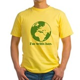 Cpscience Mens Yellow T-shirts
