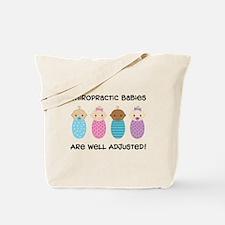 Chiropractic Babies Tote Bag