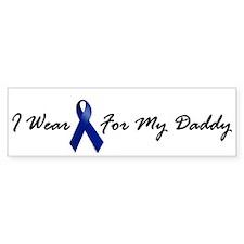 I Wear Blue For My Daddy 1 Bumper Bumper Sticker