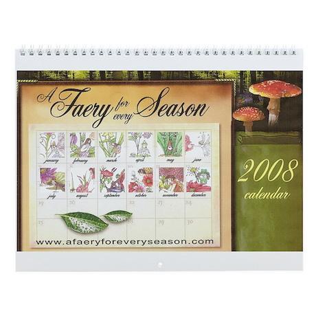 AFfES 2008 Birthday Calendar Wall Calendar