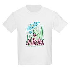 Alicia Ladybug Flower T-Shirt