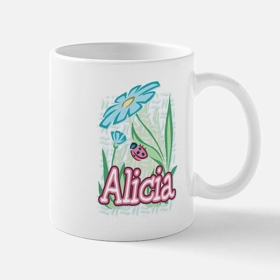 Alicia Ladybug Flower Mug