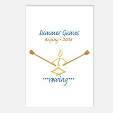 Summer Games Rowing Postcards (Package of 8)