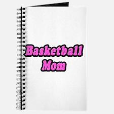 """""""Basketball Mom (Pink)"""" Journal"""