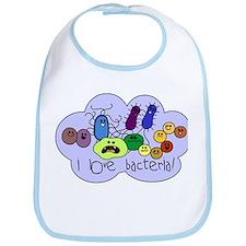 I Love Bacteria Bib