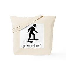Snowshoes Tote Bag