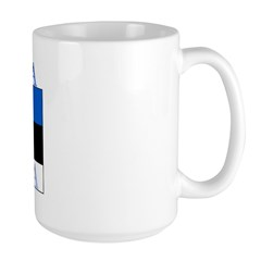 Estonia Estonian Flag Mug
