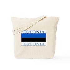Estonia Estonian Flag Tote Bag