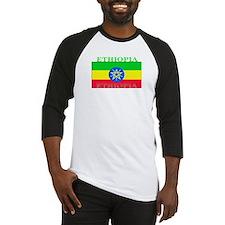 Ethiopia Ethiopian Flag Baseball Jersey