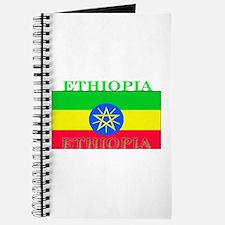 Ethiopia Ethiopian Flag Journal