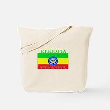 Ethiopia Ethiopian Flag Tote Bag
