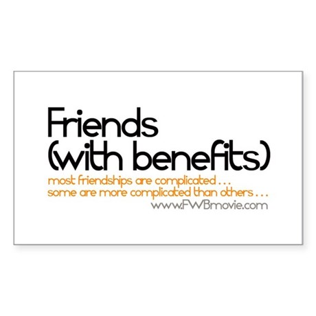 FRIENDS WITH BENEFITS Sticker