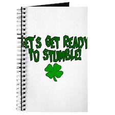 Unique Lets get ready stumble Journal