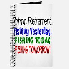 Retirement Fishing Yesterday Journal