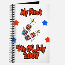 Cute First 4th july Journal