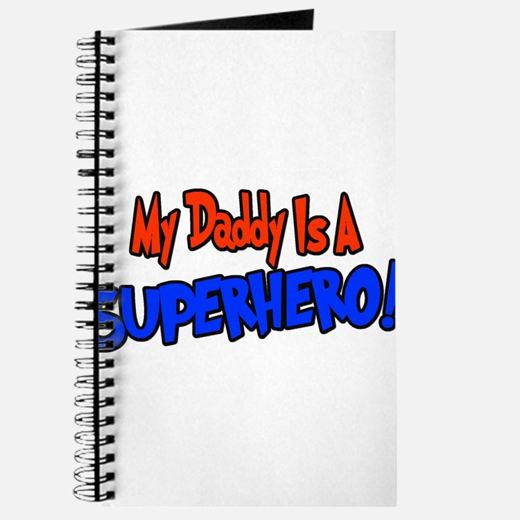 Cute Super hero dad Journal