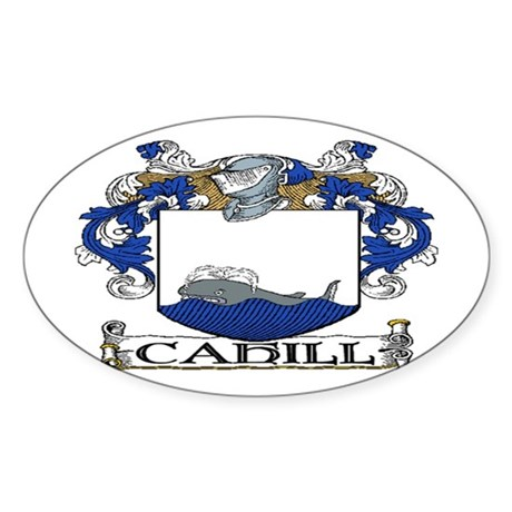 Cahill Coat of Arms Sticker (Oval)