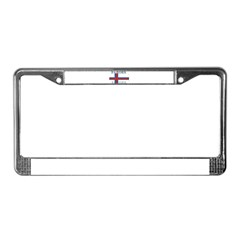 Faroes License Plate Frame