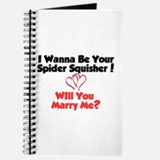 Cute Will you marry me Journal
