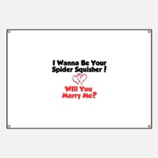 Cute Will you marry me Banner