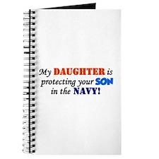 Cute Navy baby Journal
