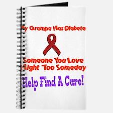 Grampa has diabetes Journal