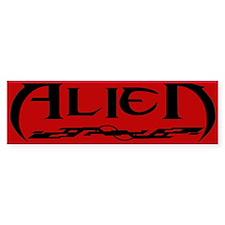 New ALIEN Themed Bumper Stick Bumper Bumper Sticker