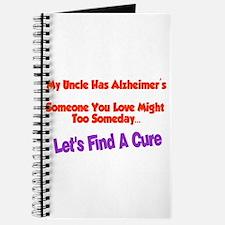 Uncle has Alzheimer's Journal