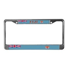 Fiji Fijian Flag License Plate Frame