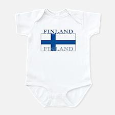 Finland Finish Flag Infant Creeper