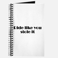 Unique Motorcycle riding Journal