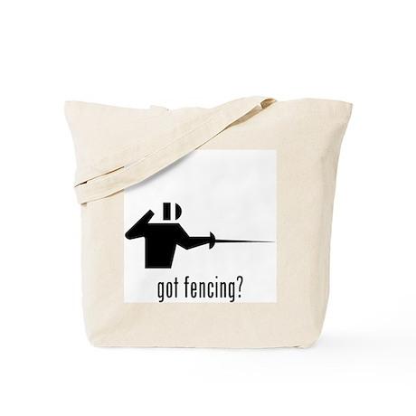 Fencing 3 Tote Bag