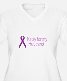 I Relay for my Husband T-Shirt