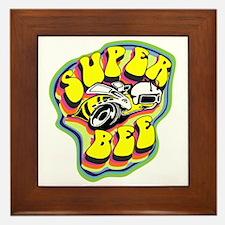 70'S Super Bee Framed Tile