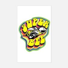 70'S Super Bee Rectangle Decal