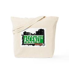 ASCENZI SQUARE, BROOKLYN, NYC Tote Bag