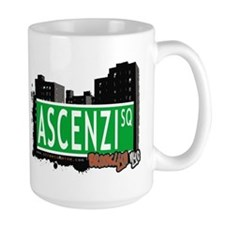 ASCENZI SQUARE, BROOKLYN, NYC Mug