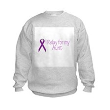 I Relay for my Aunt Sweatshirt