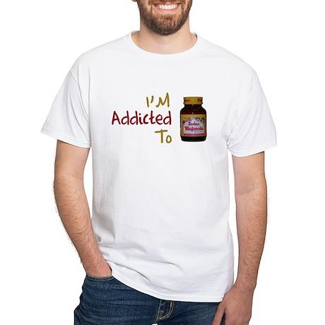 I'm Addicted to Hajmola White T-Shirt