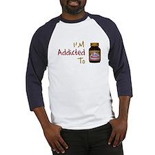 I'm Addicted to Hajmola Baseball Jersey