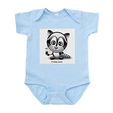 Raccoon Infant Creeper
