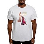 Nine Words Light T-Shirt