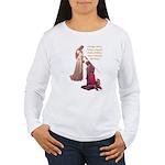 Nine Words Women's Long Sleeve T-Shirt
