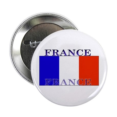 France French Flag Button