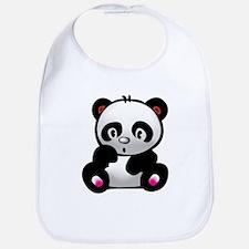 Cool Panda bear Bib
