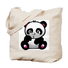 Cute Panda bears Tote Bag