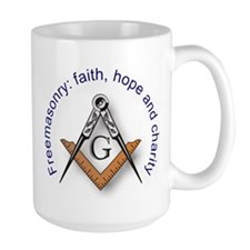 Masonic Square and Compass Mug