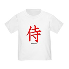 Japanese Samurai Kanji (Front) T