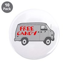 """Free Candy 3.5"""" Button (10 pack)"""